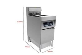Bếp chiên nhúng điện đôi Southwind IDZL-18-2 1