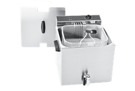 Máy chiên nhúng đơn 12 lít có vòi xả Roller Grill MF 120 R 1