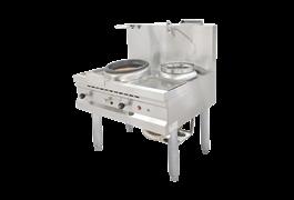 Bếp Á khè có quạt thổi dùng gas Nayati NGKB 11-90 CLN 1