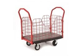 Xe đẩy đồ bằng nhựa có bánh xe TPR 6″, OEASY 4461BK 1