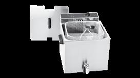 Máy chiên nhúng đơn 12 lít có vòi xả Roller Grill MF 120 R 2