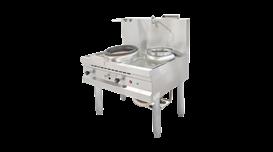 Bếp Á khè có quạt thổi dùng gas Nayati NGKB 11-90 CLN 2
