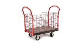 Xe đẩy đồ bằng nhựa có bánh xe TPR 6″, OEASY 4461BK 2