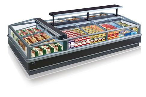 Tủ đông trưng bày siêu thị Southwind P0G1-12S