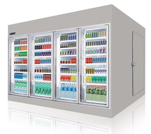 Tủ mát trưng bày siêu thị Southwind  W6D1-4DW