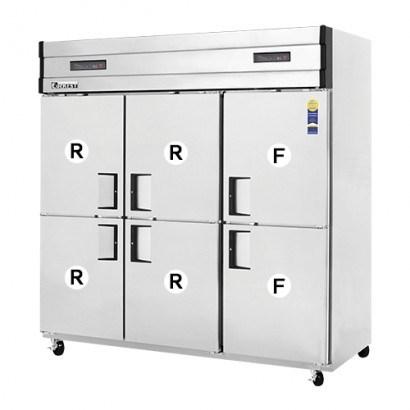 Tủ đông mát 6 cánh 4 mát 2 đông Southwind B190-6RRFS-E (Hàn Quốc)