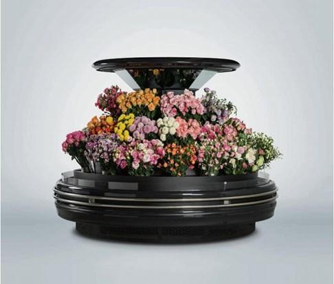 Tủ đảo tròn trưng bày hoa Southwind 18YA