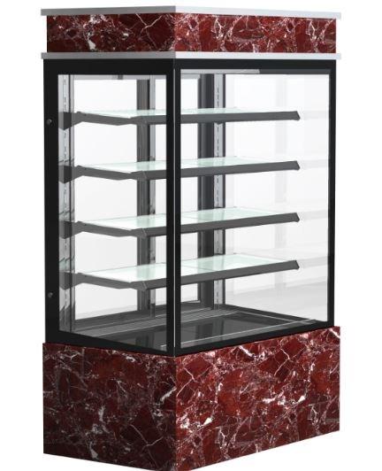 Tủ trưng bày bánh góc năm tầng Southwind Q740V-M