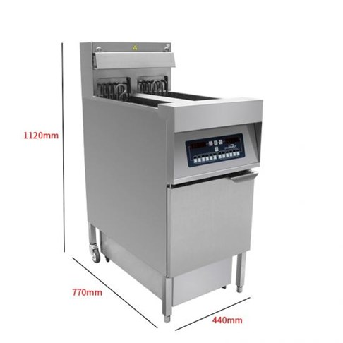 Bếp chiên nhúng điện đôi Southwind IDZL-18-2
