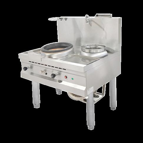 Bếp Á khè có quạt thổi dùng gas Nayati NGKB 11-90 CLN