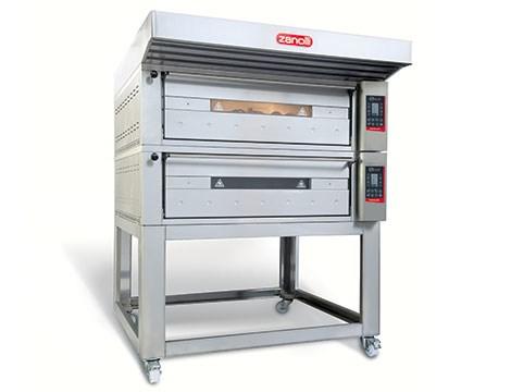 Lò nướng pizza 2 tầng dùng điện Zanolli T POLIS 2/MC18