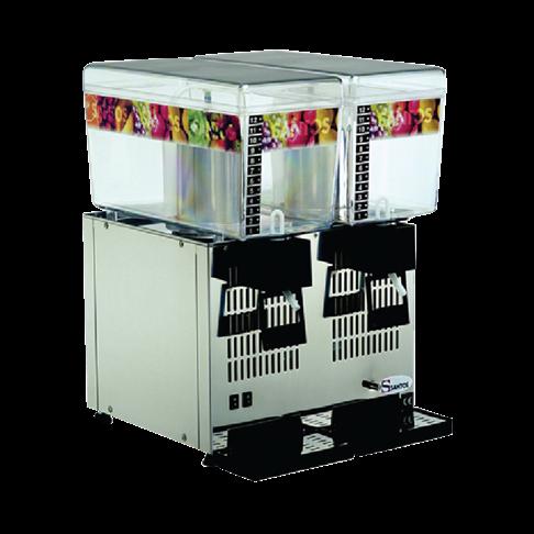 Máy giữ lạnh thức uống Santos 2x12L