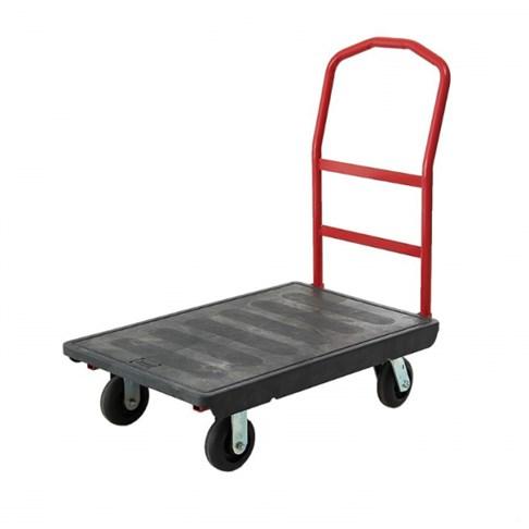 Xe đẩy đồ bằng nhựa có bánh xe TPR 6″, OEASY 4411BK