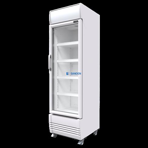 Tủ mát 1 cánh kính Sanden SPE-0405
